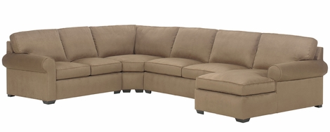 Dillon Fabric Upholstered Transitional Modular Collection