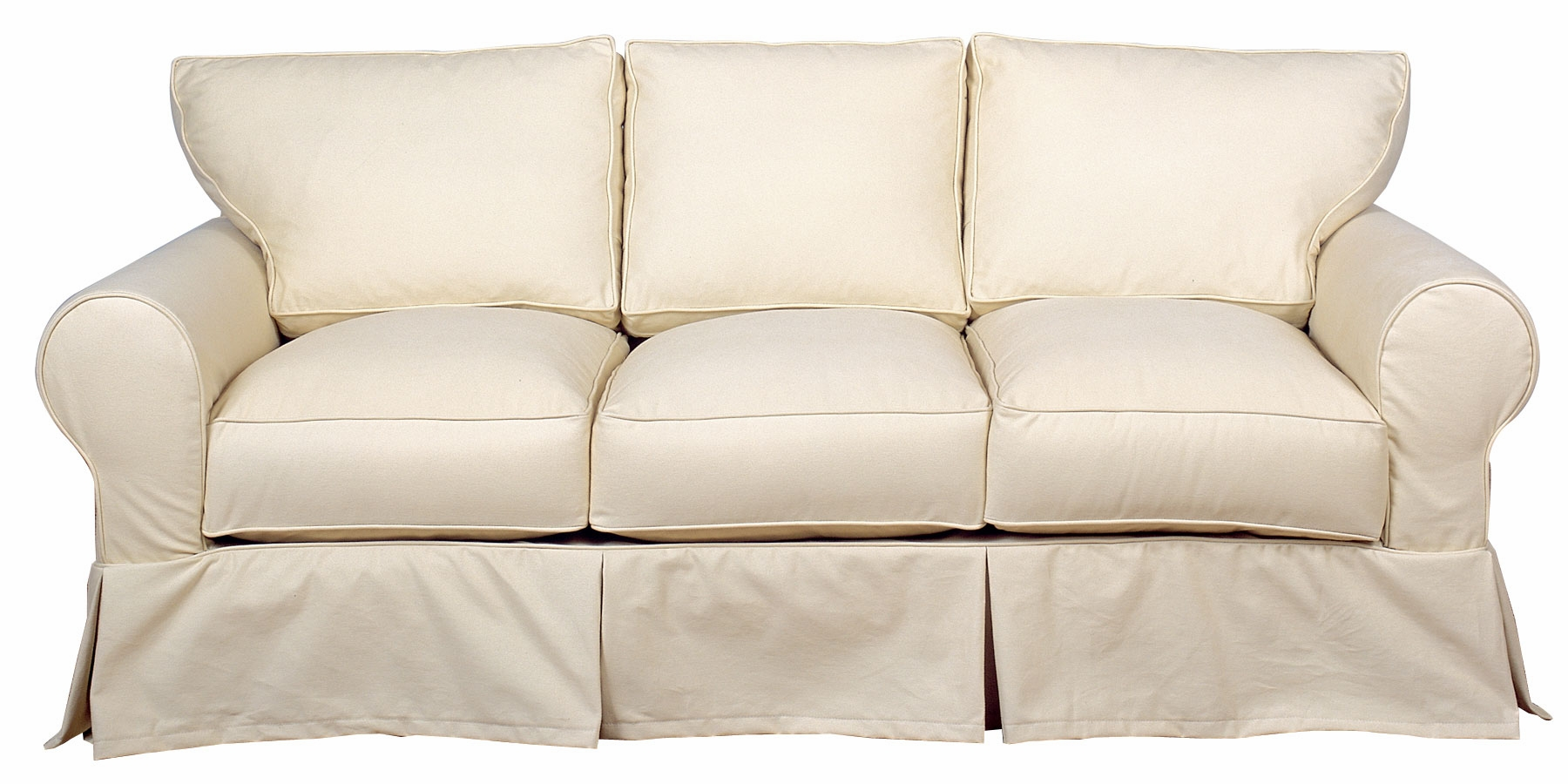 Dilworth Slipcover 3 Cushion Queen Sleeper Sofa