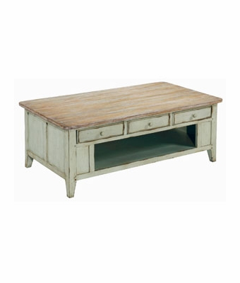 Eaton Rustic Rectangular Cocktail Table