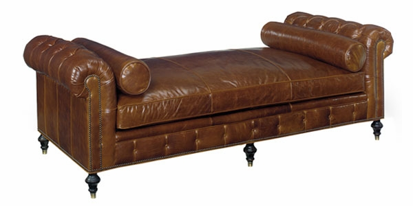 Large Leather Chesterfield Day Bed With Tufted Arms Club  : frazier designer style 94 inch tufted leather chesterfield daybed 1 from www.clubfurniture.com size 600 x 300 jpeg 67kB