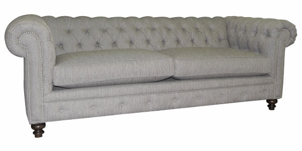 Hastings Chesterfield Queen Fabric Sleeper Sofa