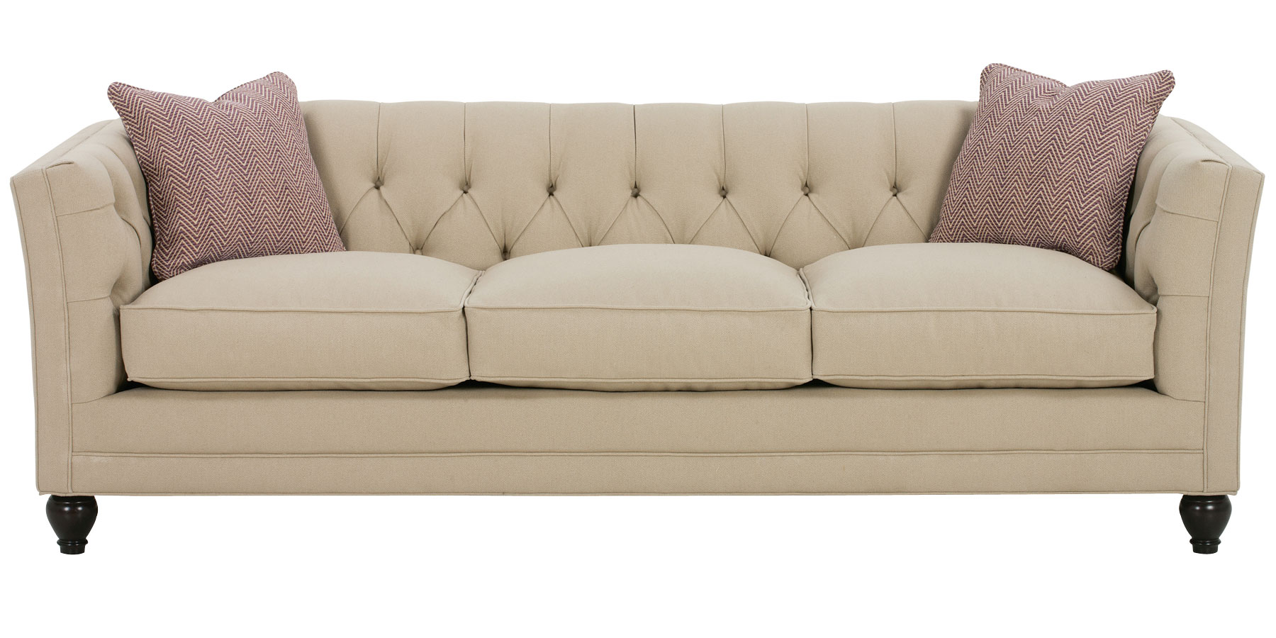 Tufted back fabric sofa collection club furniture for Divan and settee