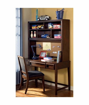 Jared Boys Bedroom Desk Hutch W Matching Upholstered Chair