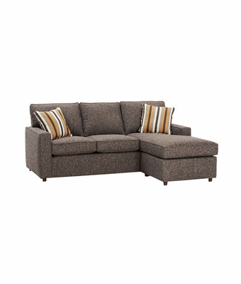 Apartment sized convertible sectional sofa with chaise for Apartment size sofa with chaise
