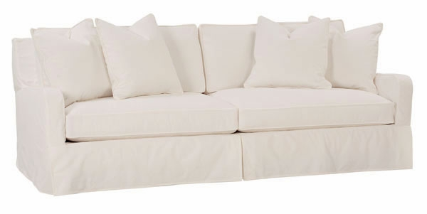 Oversized Deep Seat Slipcovered Sofa Club Furniture