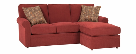 Kyle Apartment Size Sofa With Reversible Chaise