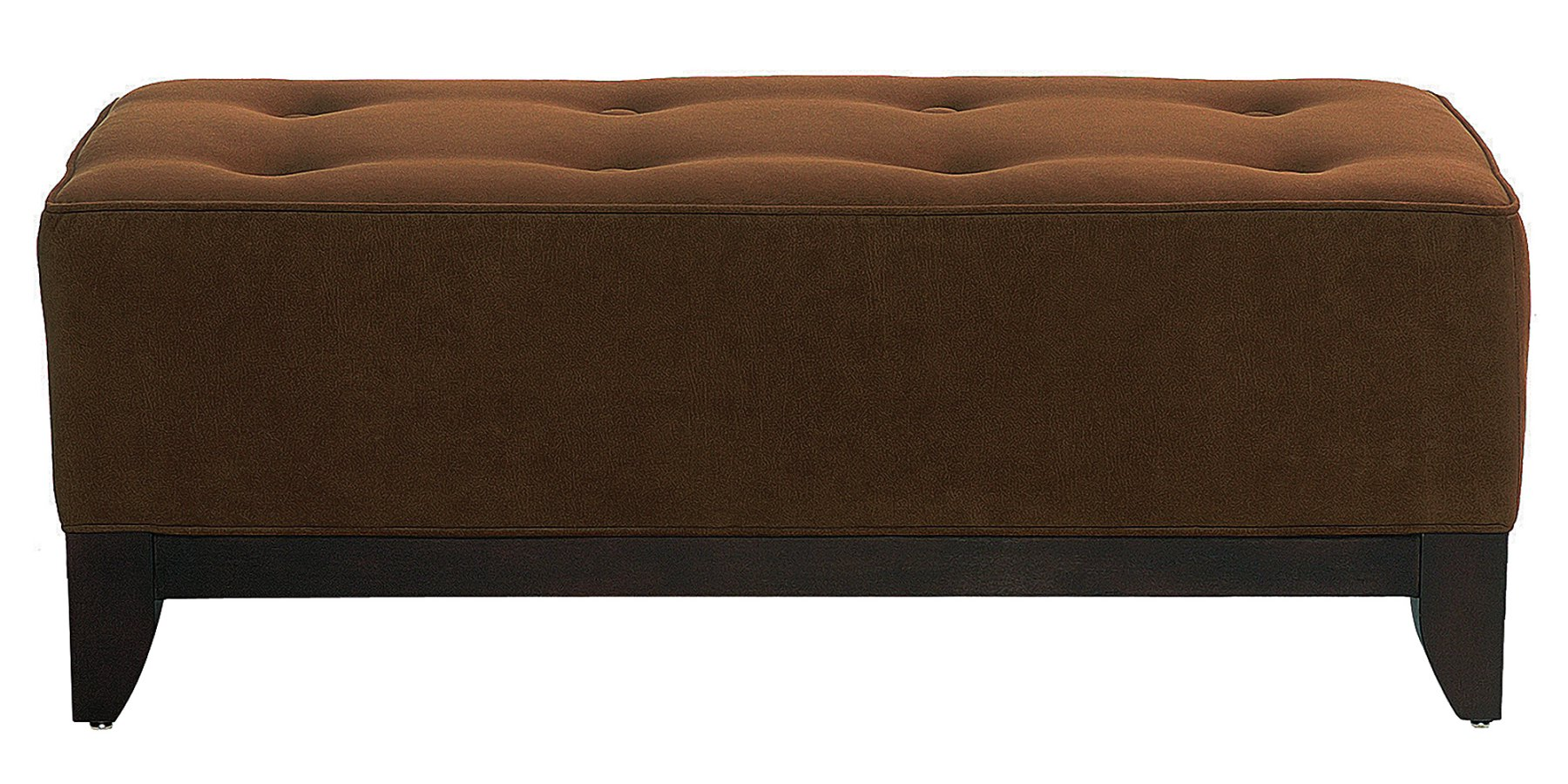 Fabric Upholstered Coffee Table Ottoman Club Furniture