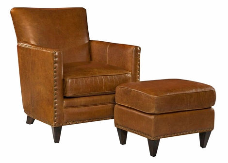 Leone Tight Back Leather Chair
