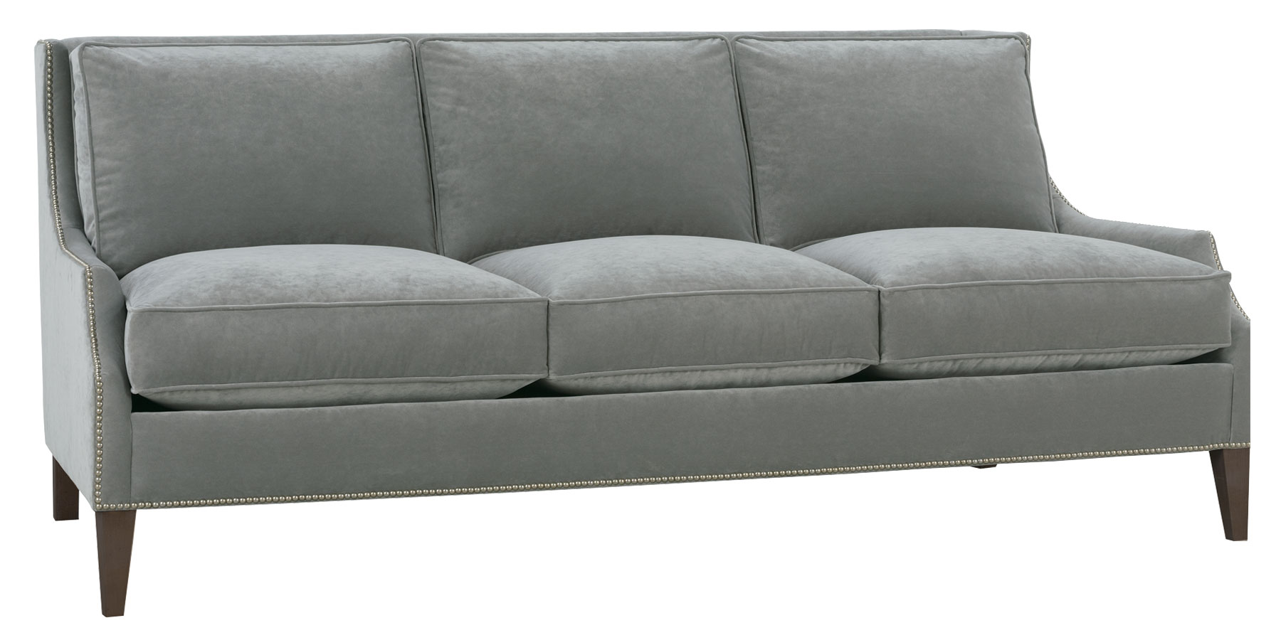 Awesome Hattie Low Arm Sofa
