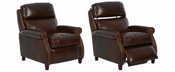 Lionel High Leg Pop Up Pillow Back Leather Recliner  sc 1 st  Club Furniture & Leather Recliner With Popup Headrest | Club Furniture islam-shia.org