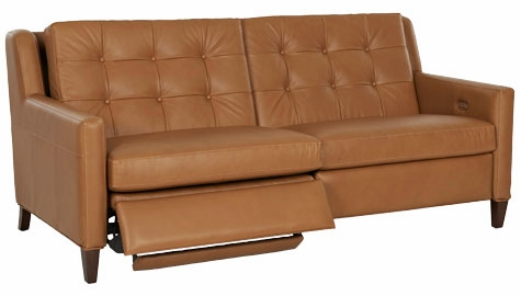 Mid-Century Modern Power Wall Hugger Reclining Loveseat