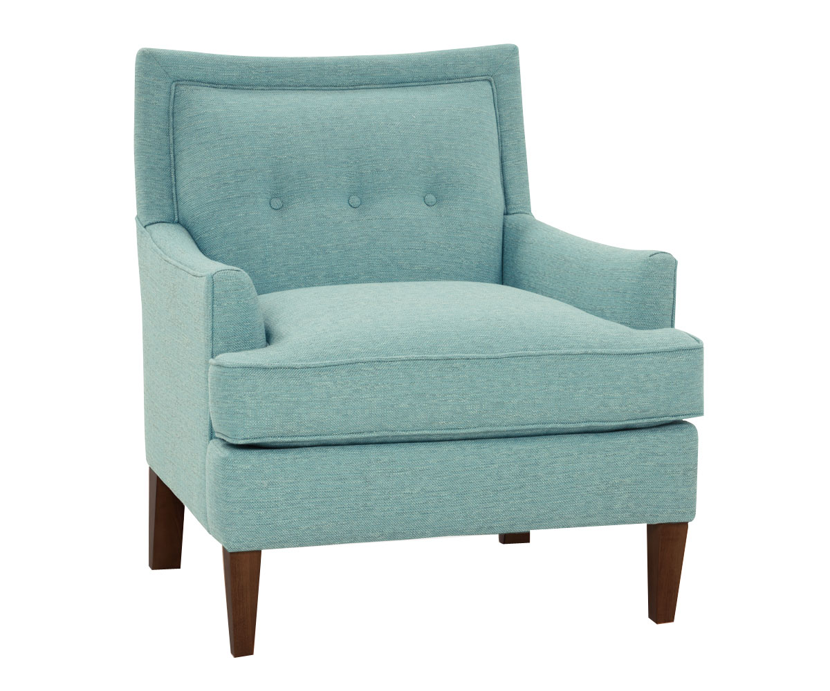 Whitley designer style hers and his fabric accent chairs for Accent furniture