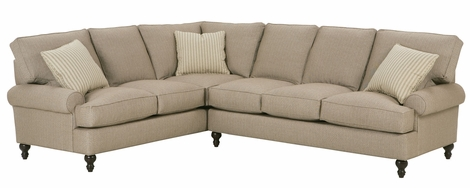 Marie Fabric Upholstered Traditional Modular