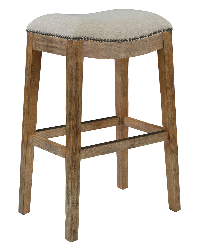 Fabric Saddle Counter And Barstools Club Furniture