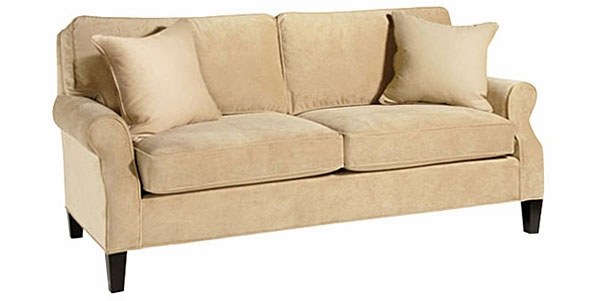 Two Seat Small Full Size Fabric Sleeper Sofa | Club Furniture