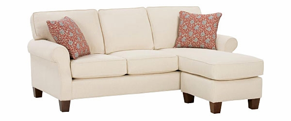 Traditional Casual Apartment Sofa With Chaise Club Furniture