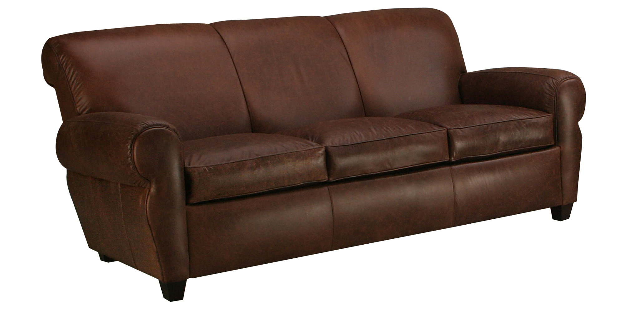 Vintage club leather sofa collection like manhattan club for Leather furniture