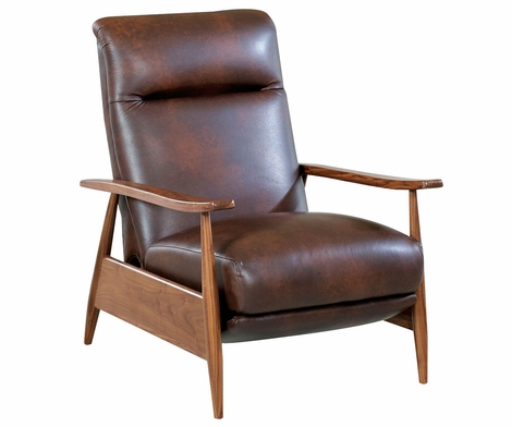 Peter Retro Mid-Century Modern With Recline Action