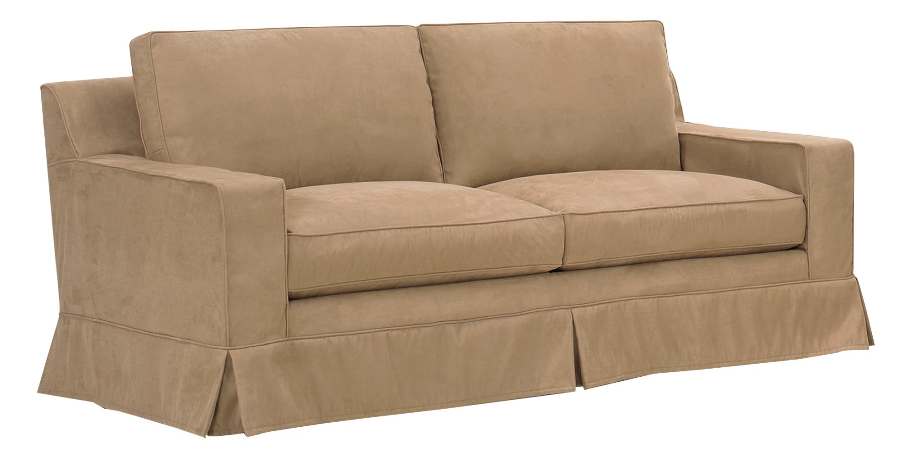 Slipcover Sleeper Sofa with Down Filled Couch Cushions