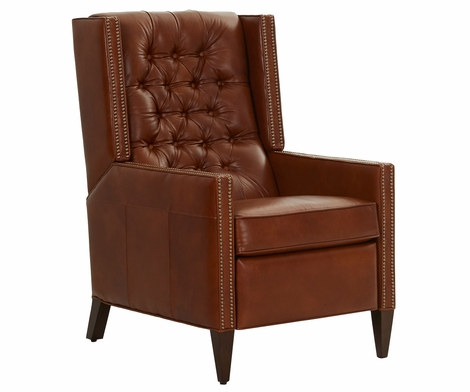 Reynolds Tufted Back Track Arm With Recline Motion