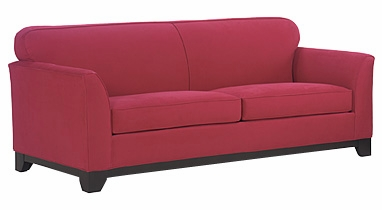 Riley Fabric Upholstered Tight Back Queen Sleeper Sofa