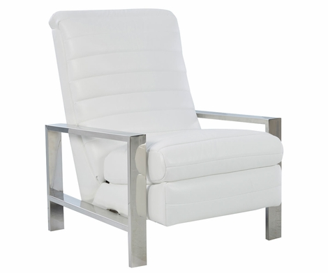 Roy Modern Stainless Steel Recliner