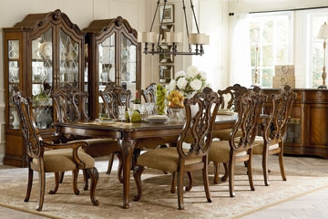 stanbury 9 piece formal dining room set On 9 piece formal dining room sets