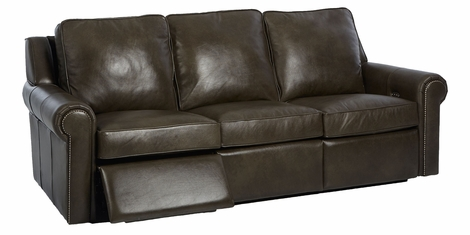 Thompkins Grand Scale Wall Hugging Dual Power Reclining Sofa