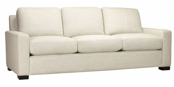 """Tracey """"Quick Ship"""" Large Modern Track Arm Sofa"""