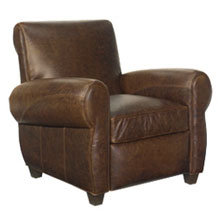 Tribeca Rustic Vintage Reclining Chair
