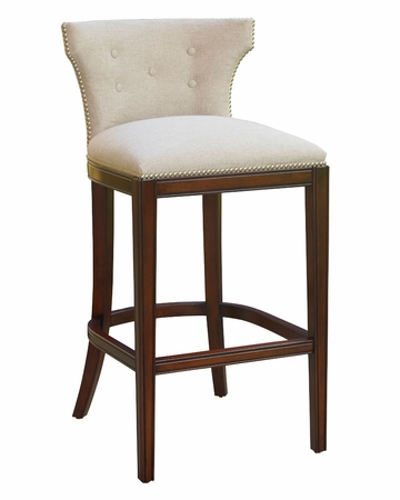 counter stools with arms backless wood wells ready ship fabric bar stool collection swivel