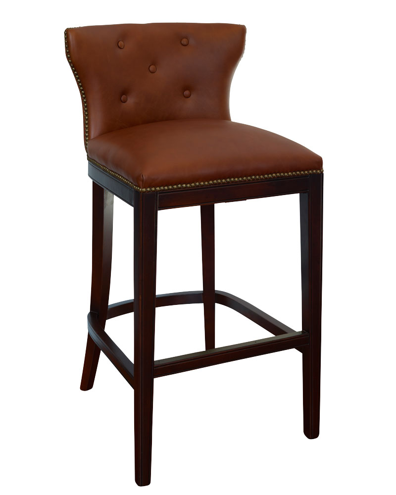 Wells Low Back Leather Bar Amp Counter Stool Collection