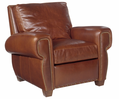 Weston Reclining Chair With Nailhead Trim