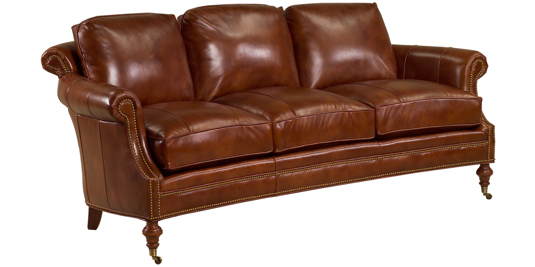 Wilson leather traditional furniture collection for Traditional leather sofas furniture