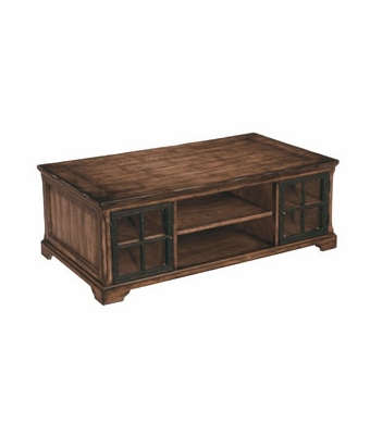 Woodward Rectangular Storage Coffee Table