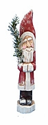 Belsnickle Santa Claus Wood Carvings #17207