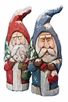 Hand Carved Old World Santa Claus #17107