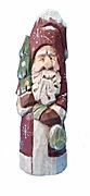 Hand Carved Old World Santa Claus #17181