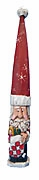 Tall Hat Pencil Santa Claus with Stocking #14172