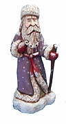 Collectible Hand Carved Father Christmas Santa Claus