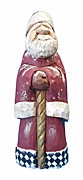 Wooden Old World Santa Claus Figure #17090