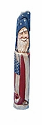 Belsnickle Patriotic Pencil Santa Claus