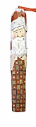 Santa Claus with Quilt Tree Ornament