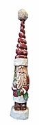 Tall Hat Santa Claus Woodcarving #17091
