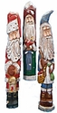 Wooden Pencil Santa Claus Wood Carvings