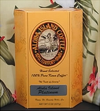 Aloha Platinum-Peaberry 100% Kona Coffee Beans (8 oz)