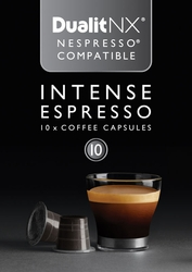 Intense Espresso Dualit NX Coffee Capsules, Pack of  50