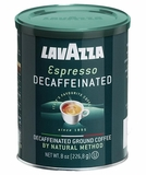 Lavazza Espresso Decaffeinato Ground (case: 12 x 8 oz cans)