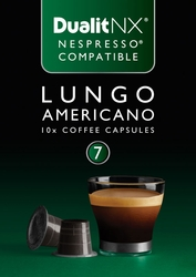 Lungo Americano Dualit NX Coffee Capsules, Pack of  50