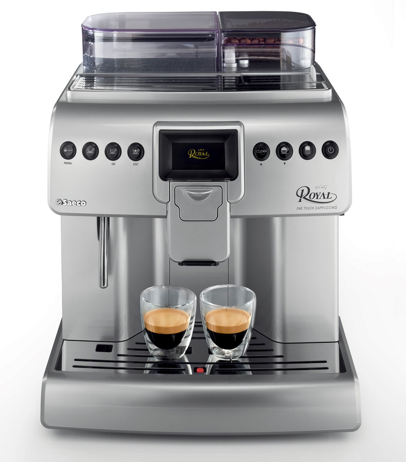 saeco royal one touch cappuccino superautomatic espresso machine. Black Bedroom Furniture Sets. Home Design Ideas